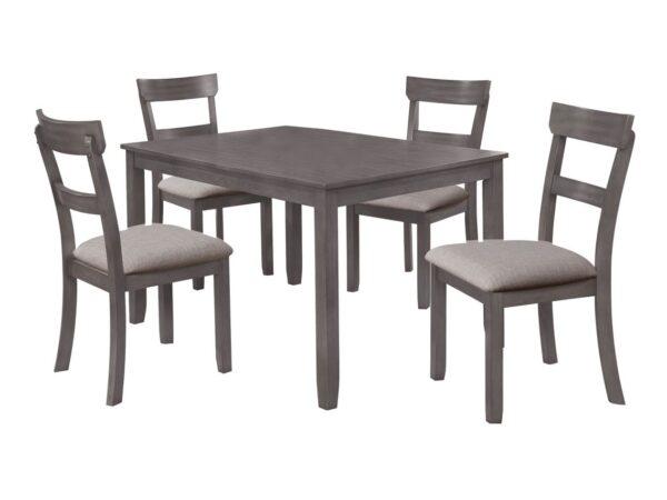 Henderson Gray 5-Piece Dining Set CR 2254SET-GY