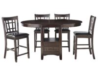 Lavon Cappuccino 5-Piece Counter Dining Set CST 102888