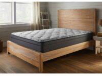 American Bedding Wrangell Cushion Firm Euro Top Mattress (Room View)