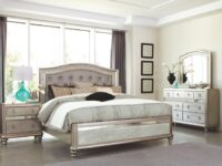Bling Game 4-Piece Bedroom Set (Room View)