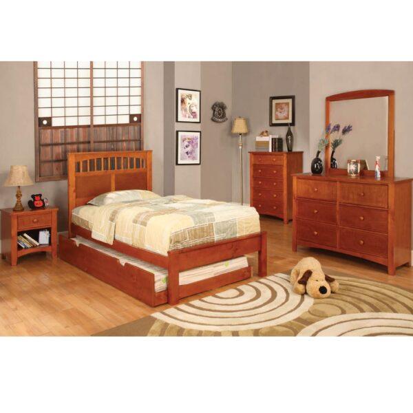 Carus Oak Bedroom Collection FOA 7904OAK