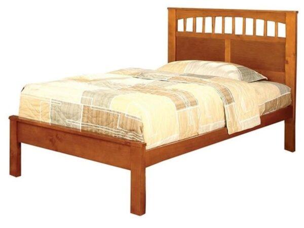 Carus Oak Platform Bed FOA CM7904OAK