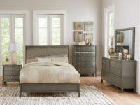 Cotterill Gray 4-Piece Bedroom Set (Room View)