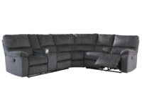 Urbino Charcoal Power Recliner Sectional ASLY 57201-77-75-01