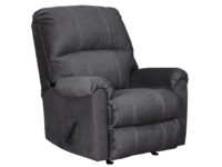 Urbino Charcoal Rocker Recliner Chair ASLY 5720125