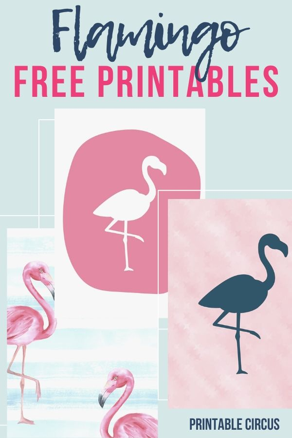 summer flamingo FREE printables. download and print these cute pink and blue home decor printables