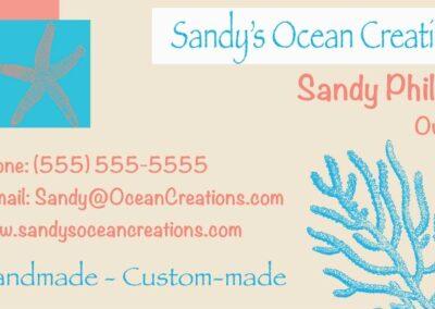 Ocean Creations Business Card