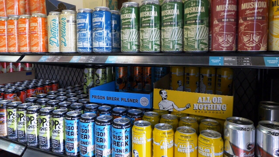 Beer Selection at the Local LCBO