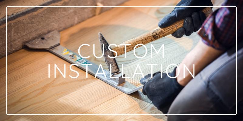 Custom Floor Installation