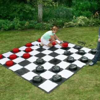 giant yard checkers game party rental