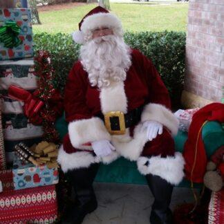 Artificial beard Santa