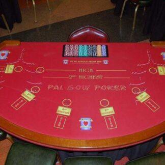 pai gow poker table rental houston