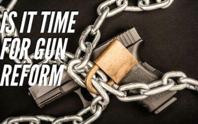 Beto O'Rourke fighting evil of gun culture