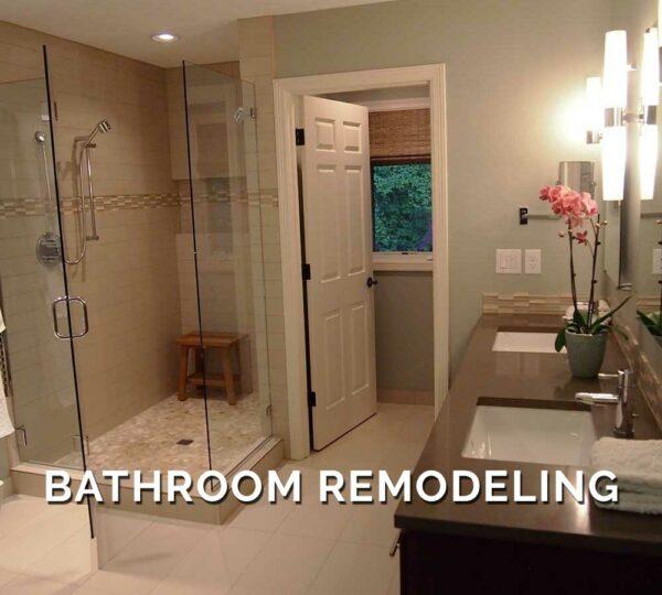 Bathroom Remodeling in Our Work