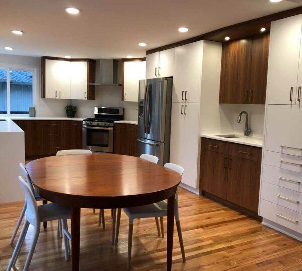Cedar Hills Mid-Century Modern Kitchen Remodel