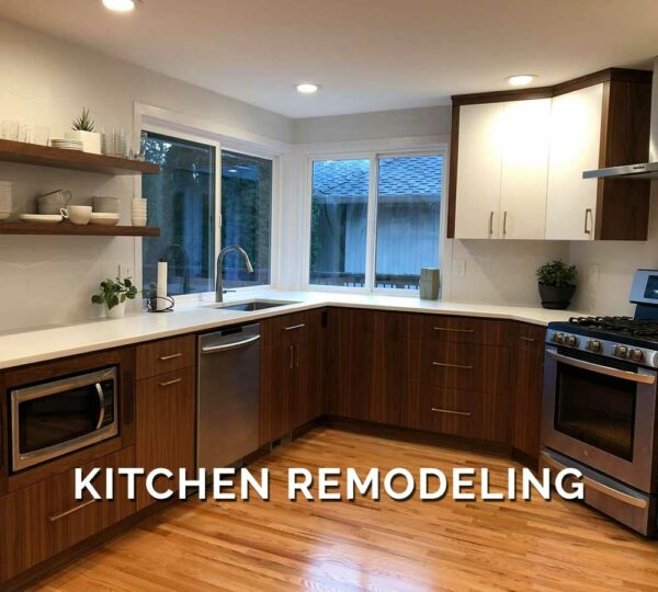 Kitchen Remodeling in Our Work
