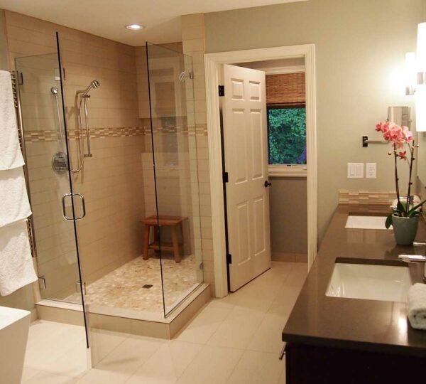 Lake Oswego Finished Master Bathroom