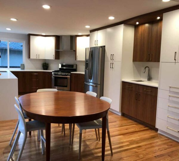 Kitchen Remodel with Mid-Century Modern Style