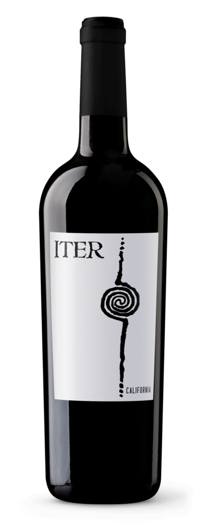 Iter Red Wine Bottle