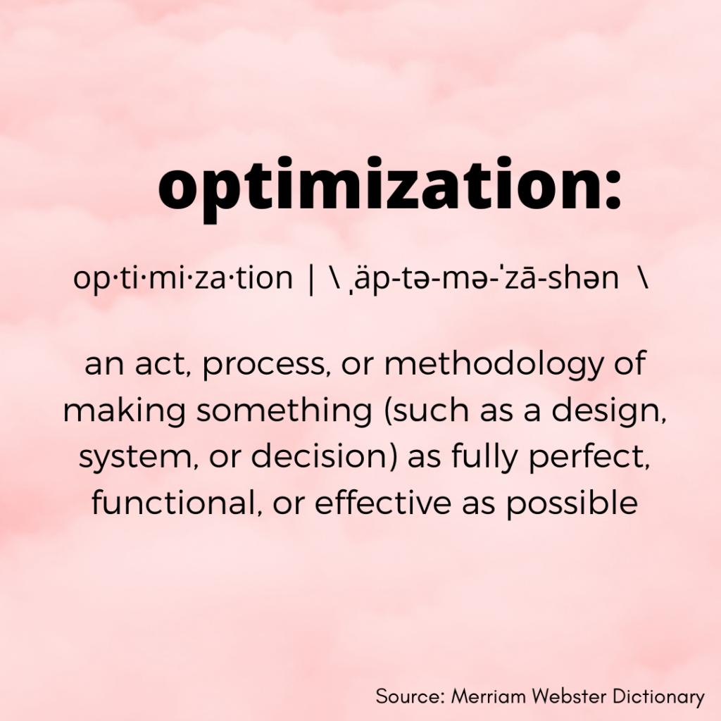 Consistency is Key in Social Media Profiles Optimization Definition