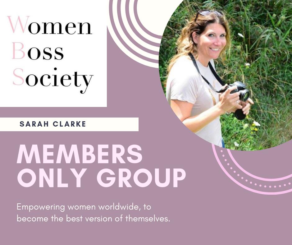 Sarah Clarke partners with Women's Boss Society