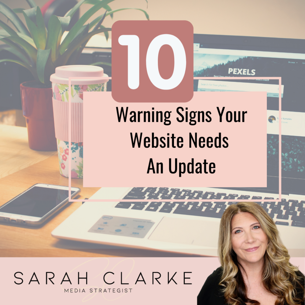 10 Warning Signs Your Website Needs An Update