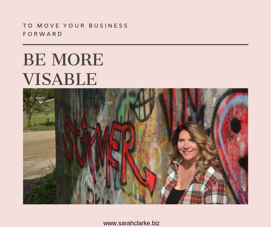 be more visable