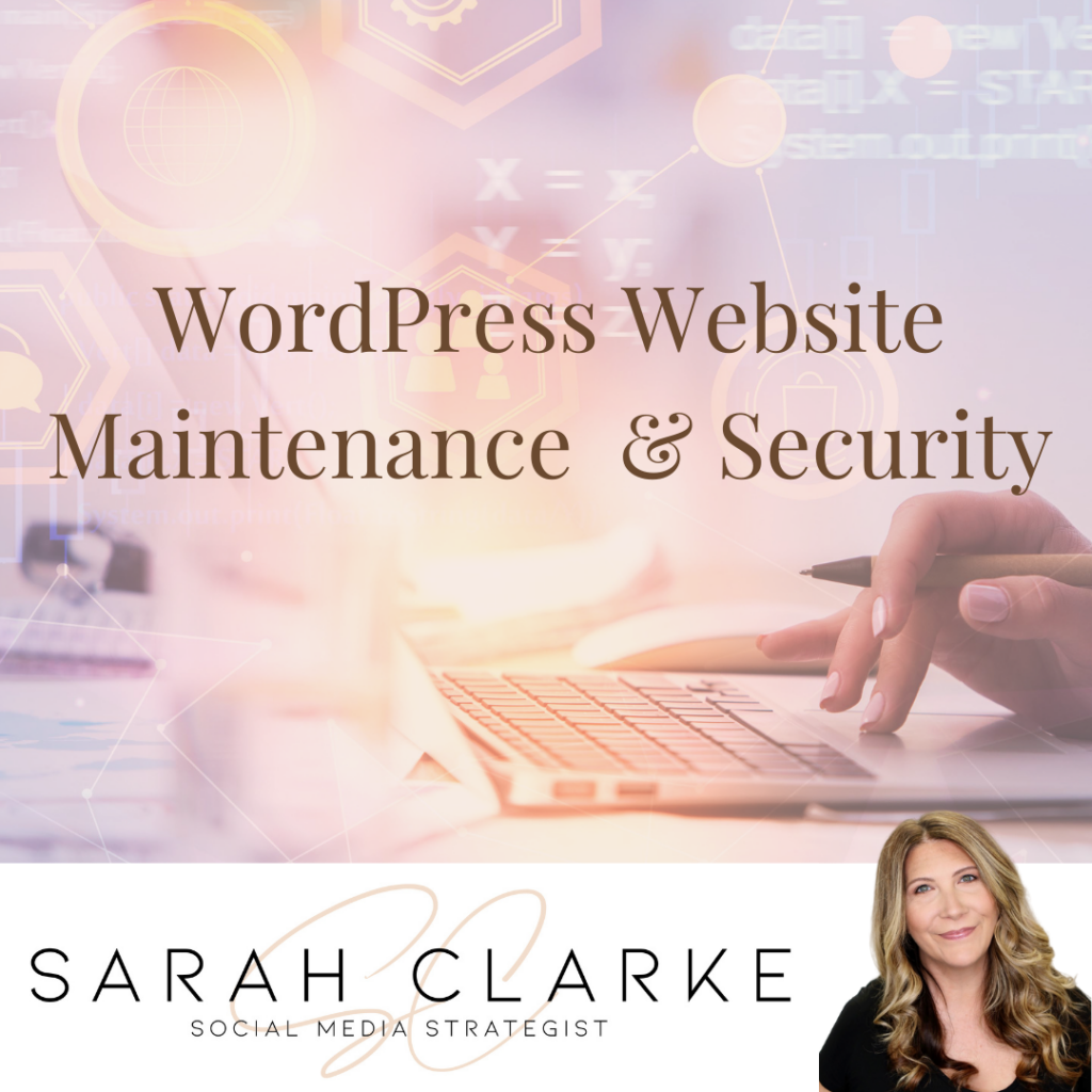 WordPress Website Maintenance Security