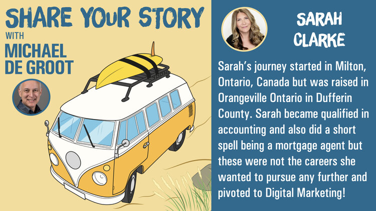 podcast with Sarah Clarke Media Strategist