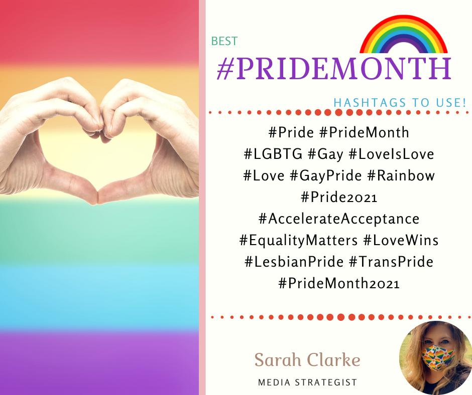 best pride hashtags
