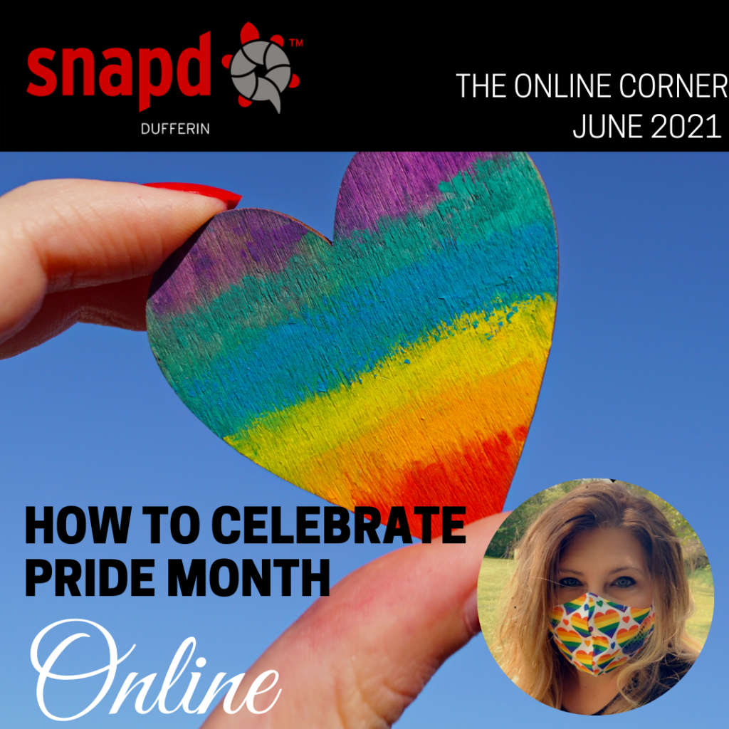how to celebrate pride month online