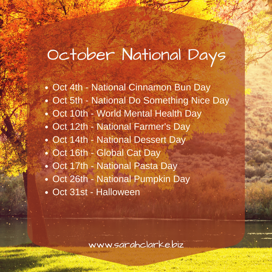 October national days