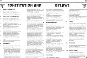 Bylaws complete