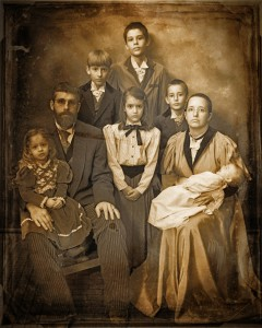 10 - Best Victorian Themed Portrait ~ Staff of Judge Roy Bean's Old Time Photos