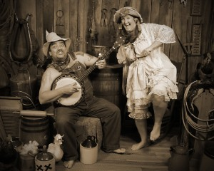 24 - Best Matched Use of a Portrait and Poster Mat ~ Staff of Judge Roy Bean's Old Time Photos