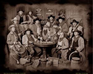 8 - Best Group Portrait (10 or more people) ~ Ella Jo & Todd Corneil, Todd's Old Time Photo
