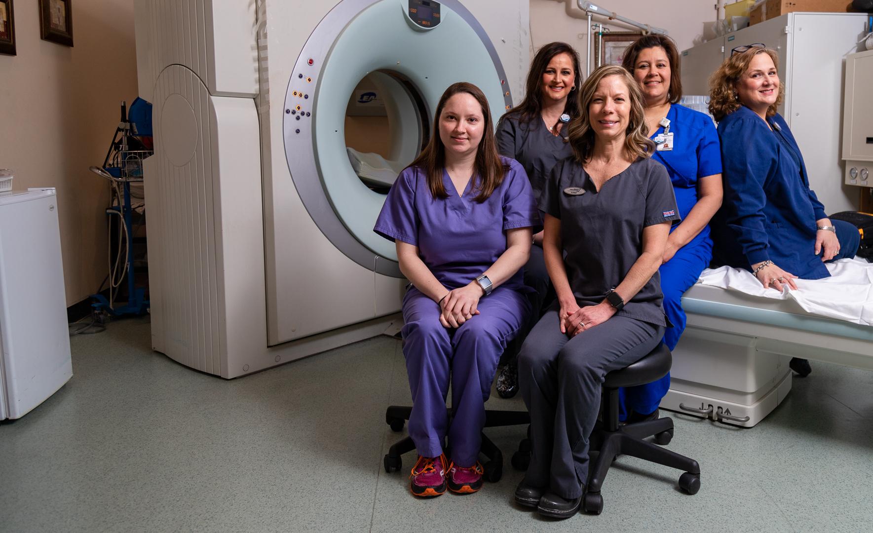 CT Scan Staff photo