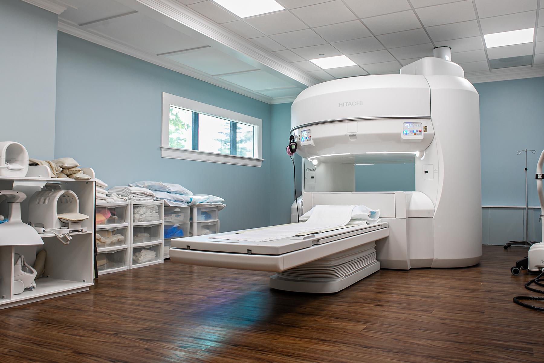 Open MRI machine OASIS
