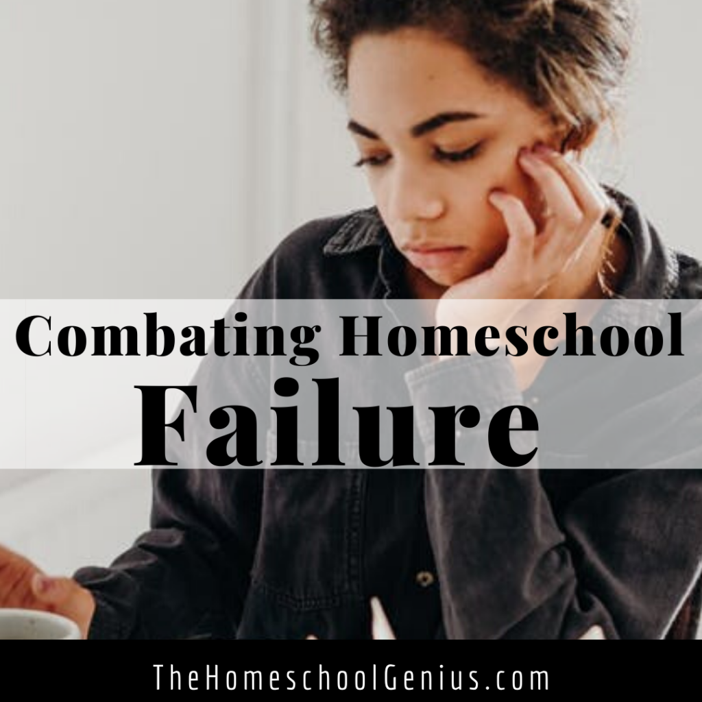 I've Failed In My Homeschool, Now What?