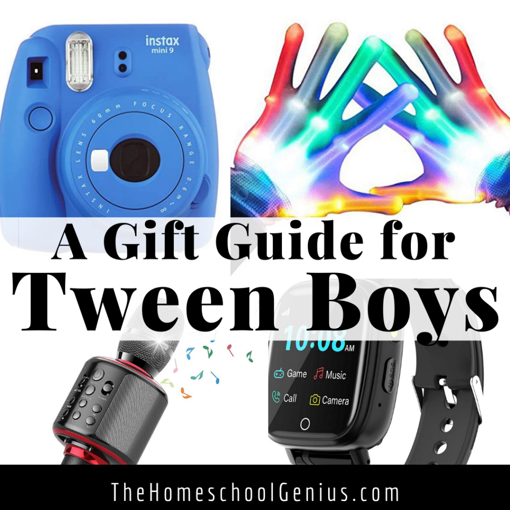 A Gift Guide for TWEEN Boys (or Girls)