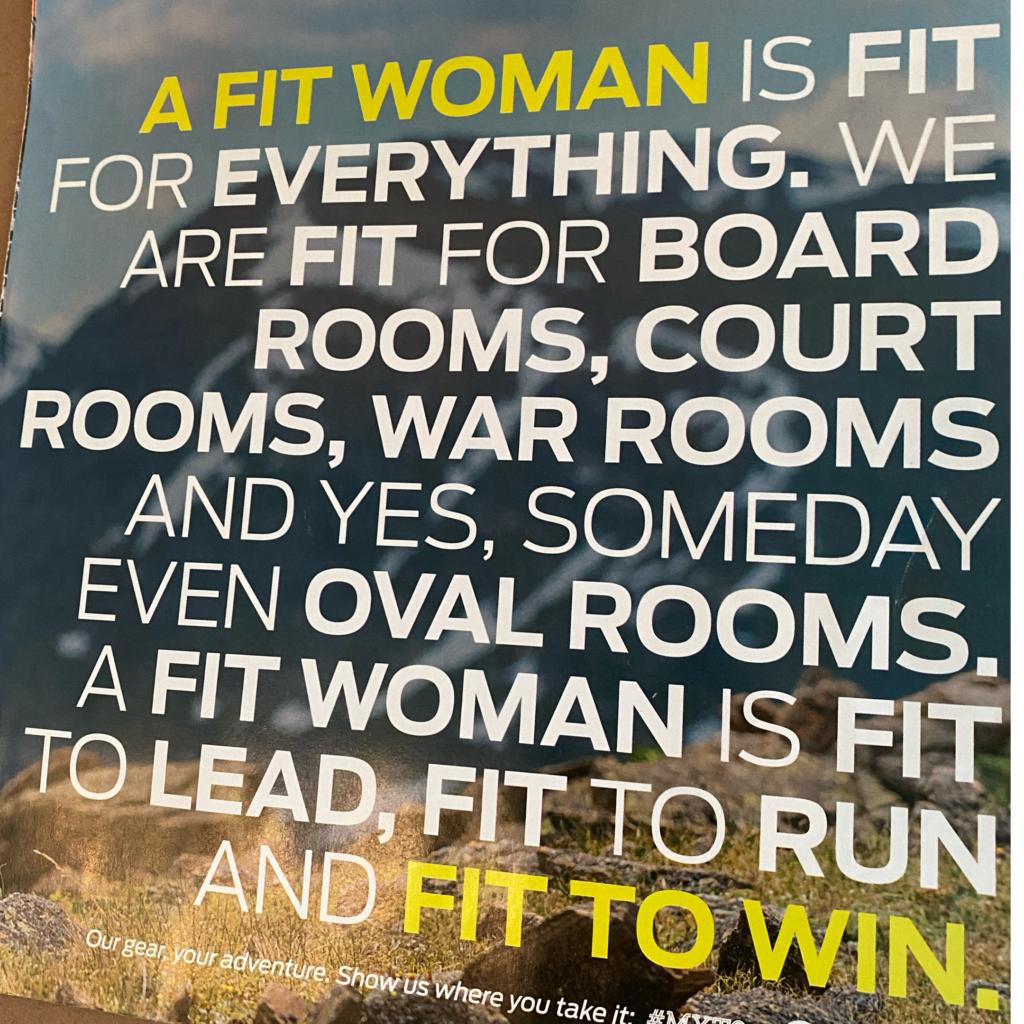 Title Nine A FIt Woman advert