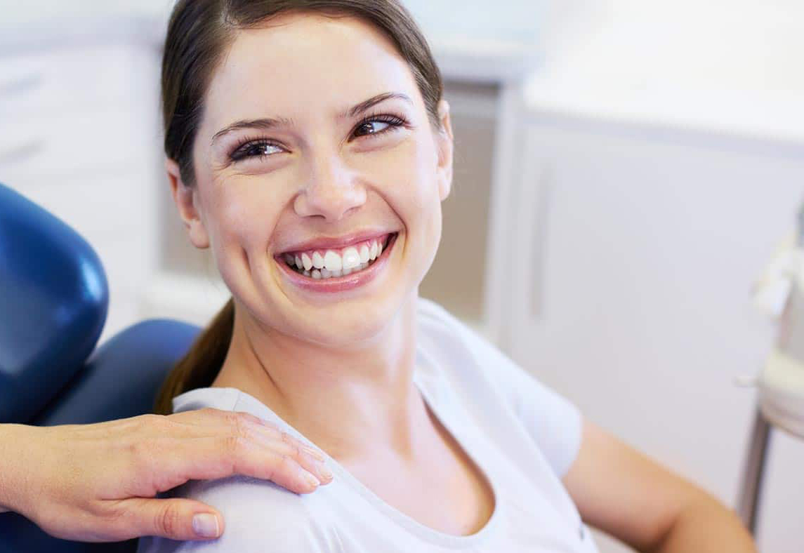 client happy after dental service