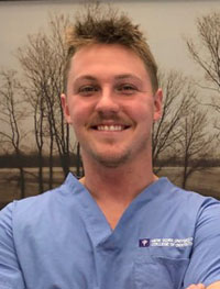 male staff member smile