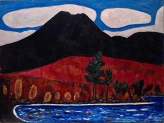 Marsden Hartley Maine Painting Mt. Katahdin