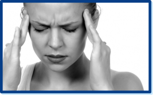 woman with migraine headache, looking for natural remedy for migraine