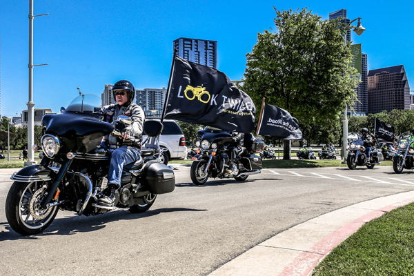 The Texas Department of Transportation (TxDOT) is asking motorists to be extra aware of motorcycles this month on the highways and byways of Texas. Photo: TxDOT