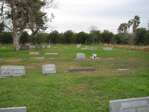 The old La Feria cemetery as it stands today. Photo: panoramio.com