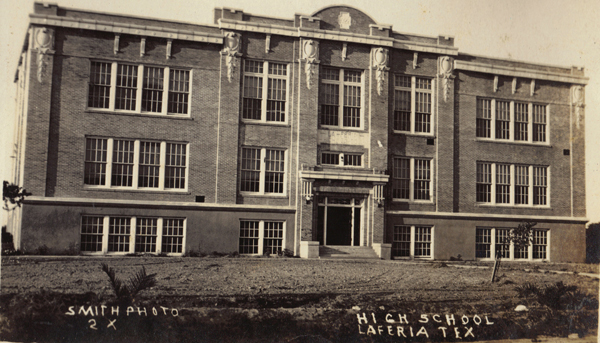 In the 1950's La Feria High School housed the only library in town.