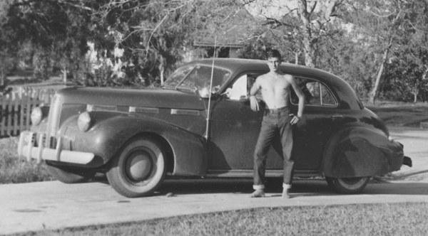 Larry took great pride in his La Salle, and despite its age, Larry could out-accelerate most new cars in La Feria. Photo: blog.hemmings.com