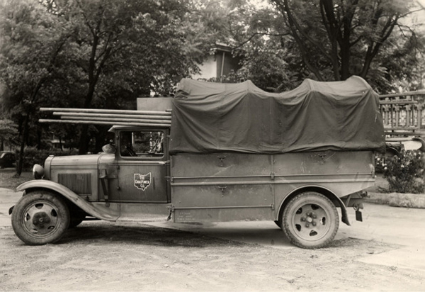 1930 Central Power and Light Line Truck. Photo: AEP